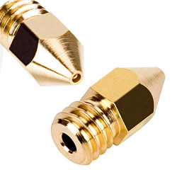 0.4mm 3D Printer Extruder Brass Nozzle MK8 Ender/Creality/wanhao