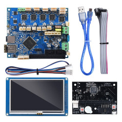 """Duet 2 Wifi V1.04 32 Bit Board With 7"""" PanelDue Touch Screen Controller Expansion Board 3D Printer Parts - Cloned"""
