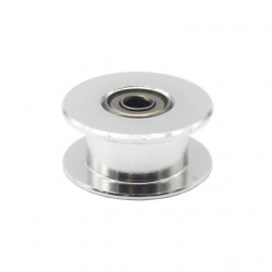Idle Pulley/Synchronous Pulley/Driven Wheel/Perlin For 16 Teeth GT2 Driver Pulley (Bore : 3mm, Teeth: 16 Without Teeth)