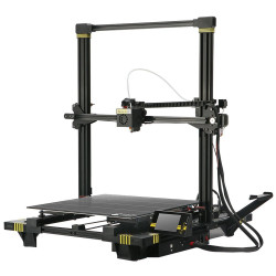 ANYCUBIC Chiron 3D Printer Assisted Auto Leveling Single Extruder Large Print Size 400x400x450mm + Free 1kg PLA Filament, Work with with PLA, TPU, ABS, HIPS, WOOD